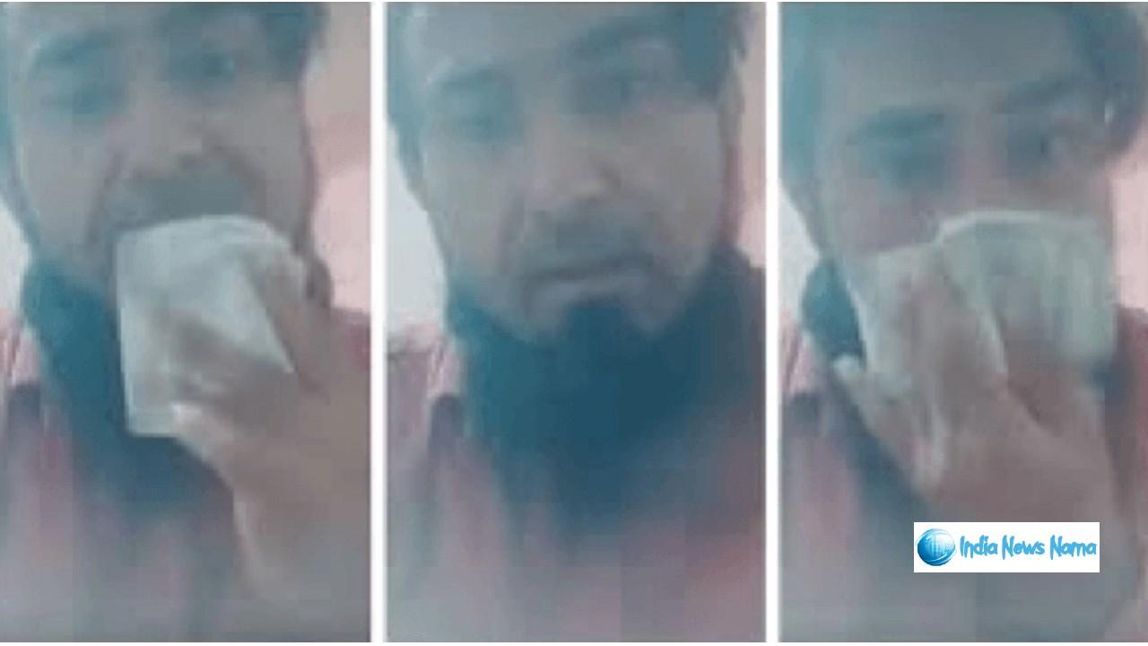 नोटो चाटते और नाक साफ करते हुए बनाया था विडियो अब पुलिस ऐसे सिखायी सबक