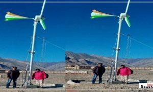 भारतीय छात्र ने बनाई अनोखी पवनचक्की: भारतीय सेना के लिए अब -40 मे भी बनेगी बिजली